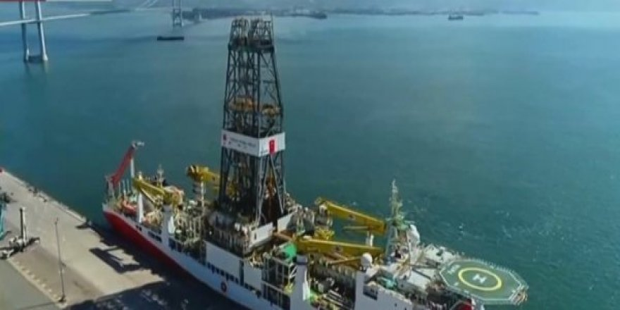 Sondaj gemimiz Fatih Petrol Bulmak için Akdenize sefere çıktı
