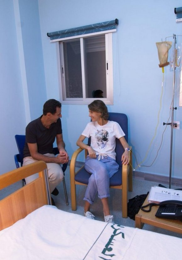 Beşşar Esad'ın karısı Esma Esad'a kanser teşhisi konuldu