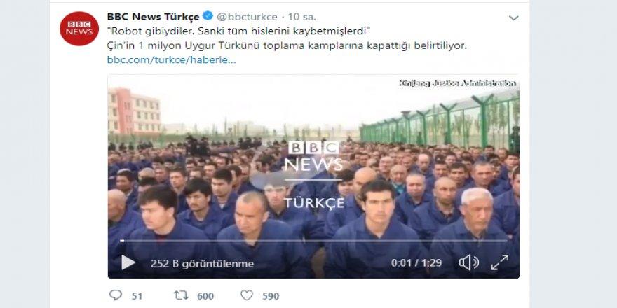 Türkiye - Çin ne zaman ivme kazansa ingiliz hemen bu haberi servis ediyor
