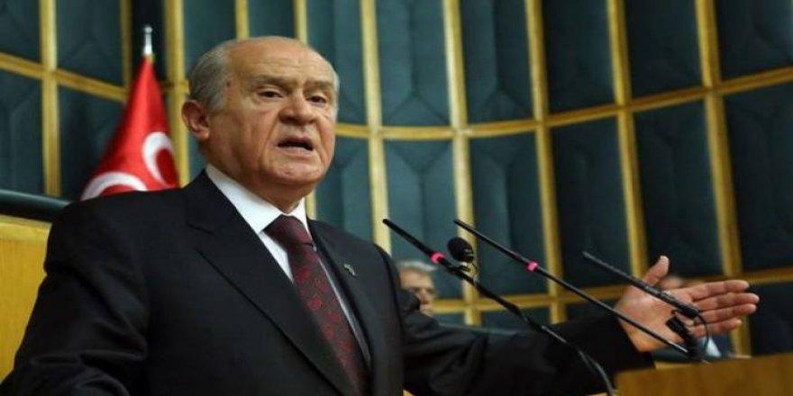 MHP Lideri Devlet Bahçeli:Cumhur İttifakı duruyor, yerelde ittifak yok
