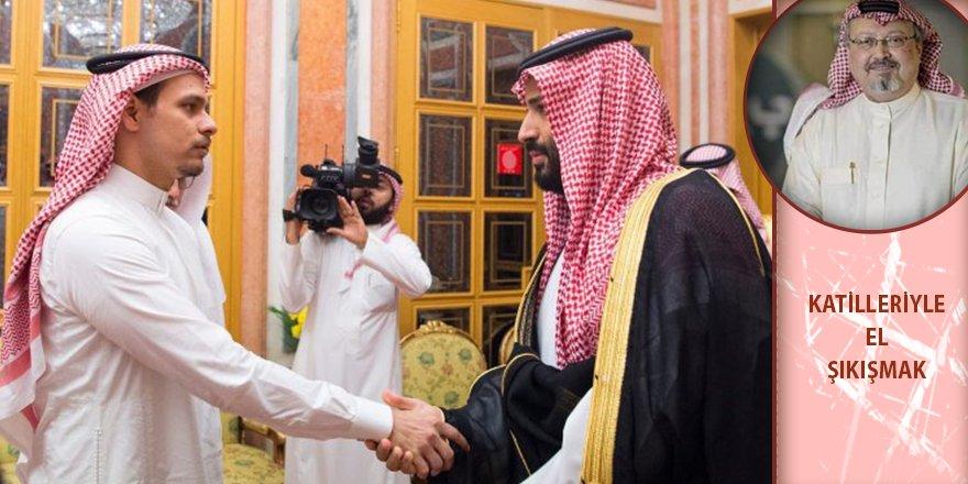 Kaşıkçı ailesi Kral ve Prens ile el sıkışmak zorunda kaldı