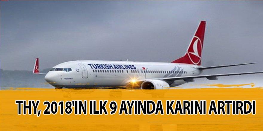 Türk Hava Yolları 2018'in ilk 9 ayında karını artırdı