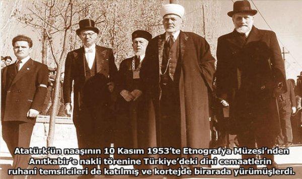 Mustafa Kemal'in Cenaze Namazı Türkçe Kılınmış