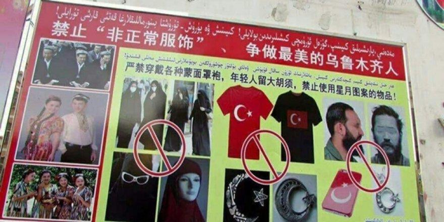 Kızıl Çin Doğu Türkistan'da Türklüğü ve İslam'ı anlatan ne varsa yasaklandı