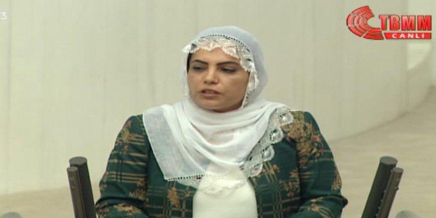 HDP'li vekil Remziye Tosun mecliste Terörist cenazelerini istedi
