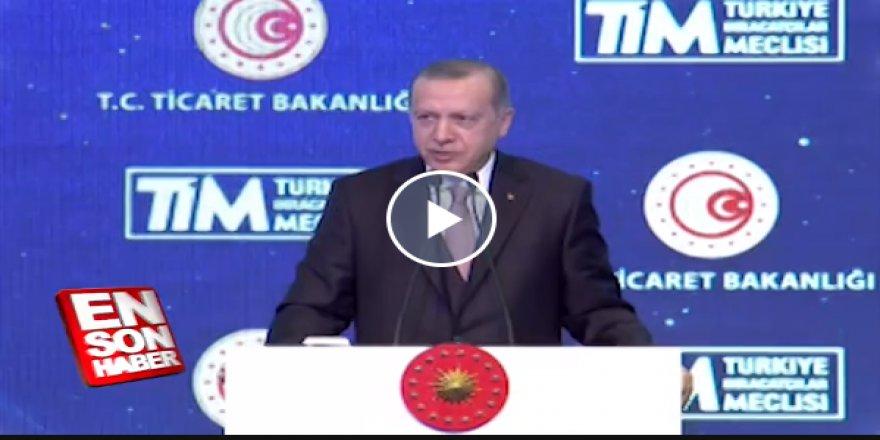 Başkan Erdoğan:Trump'la konuştum Suriye'den çekildiler