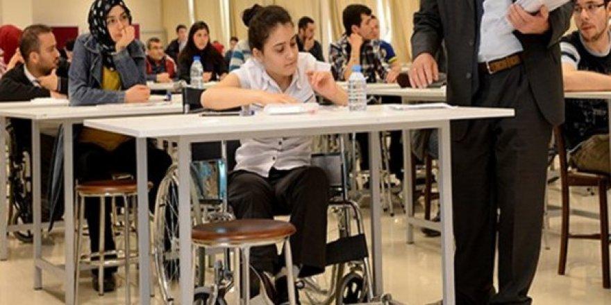 ÖSYM Engelli Kamu Personeli Seçme Sınavı (EKPSS) sonuçlarını erişime açtı.