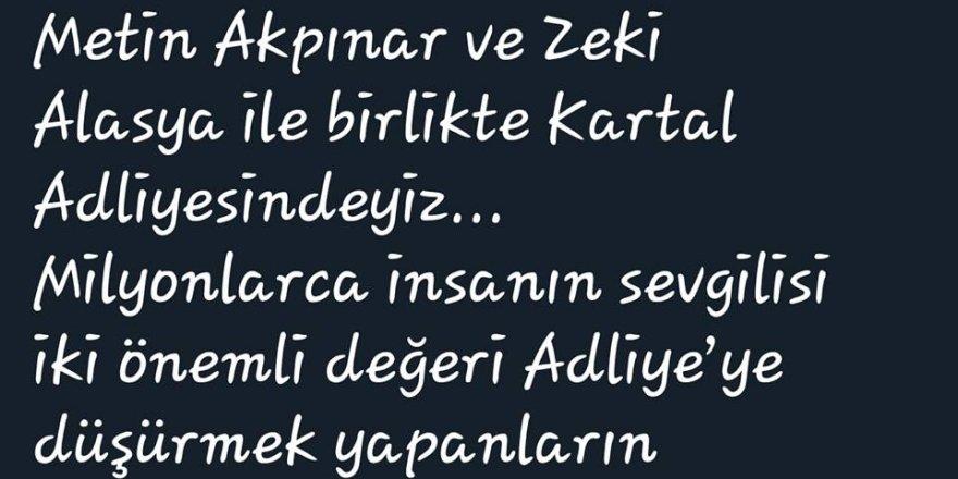 CHP'li Aykut Erdoğdu Zeki Alasya'nın hale yaşadığını sanıyor