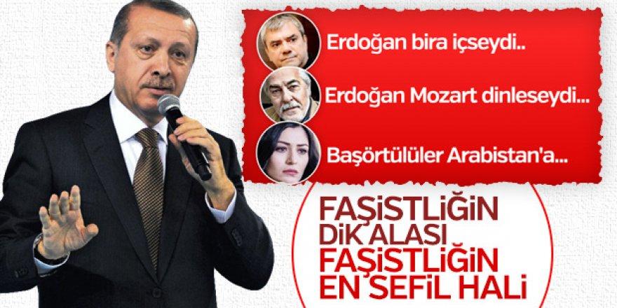 Cumhurbaşkanı Erdoğan Deniz Çakır, Yılmaz Özdil ve Rutkay Aziz gibi isimlere tepki gösterdi: