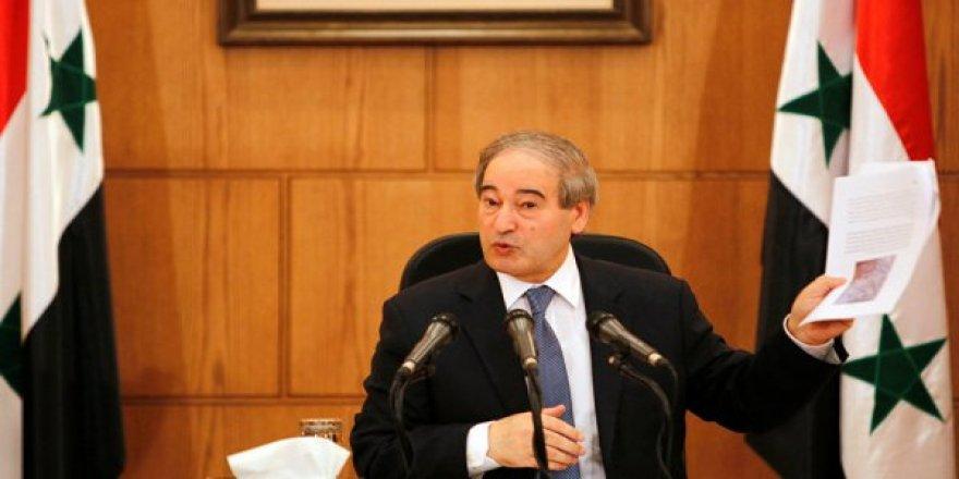 Suriye Dışişleri Bakan Yardımcısı: Kürt gruplarla iletişime geçtik.
