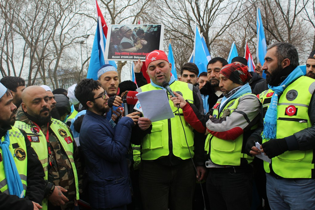 Motorcular'dan Çin'in Doğu Türkistan Politikasını Konvoylu Protesto