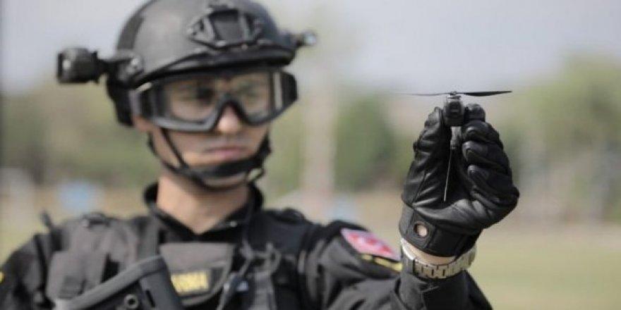 TSK'nın en seçkin birimlerinden olan JÖH-PÖH sahadaki eli kolu: Nano drone'lar