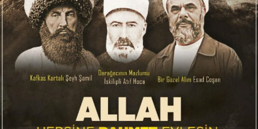 Mahmud Esad Coşan,Şeyh Şamil,Mehmed Âtıf Hoca bugün Hakk'a yürümüştü