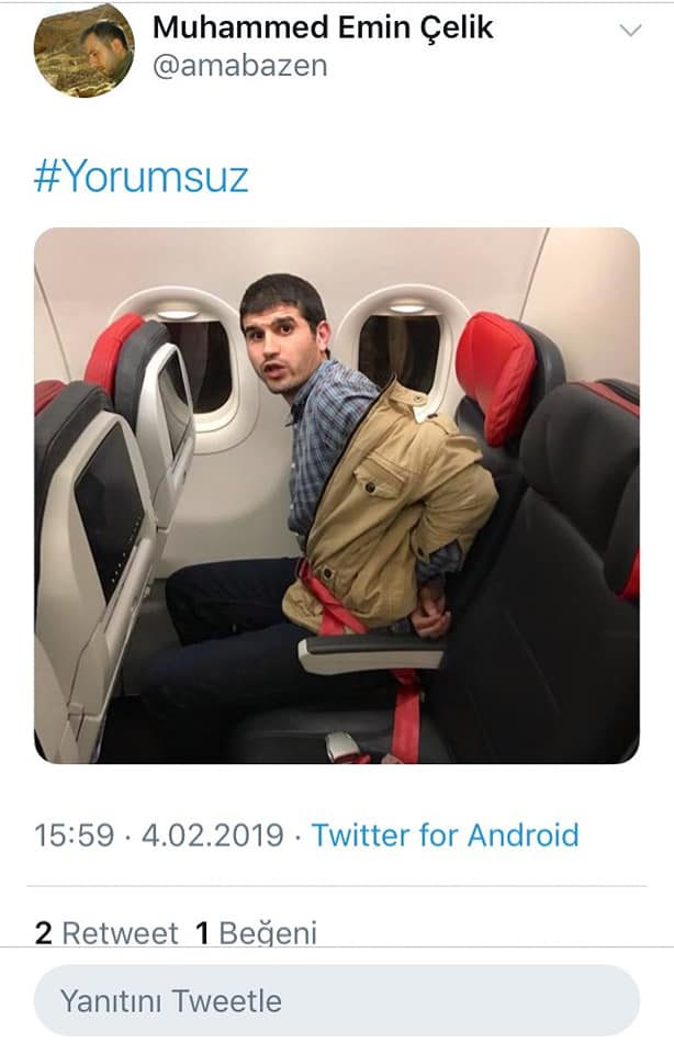 Mısır'a iade edilen Hüseyin ile ilgili fotoğrafını çeken işçi önce tutuklandı sonra serbest kaldı