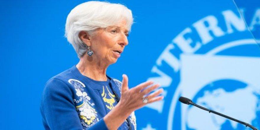 IMF Başkanı Christine Lagarde:Fırtınaya hazırlıklı olun