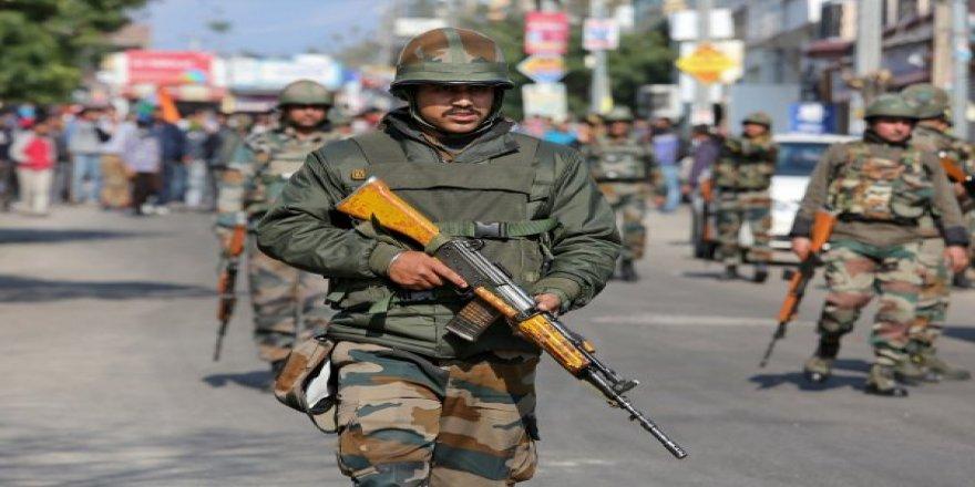 Hindistan:Savaşırsak cephanemiz 10 gün yeter