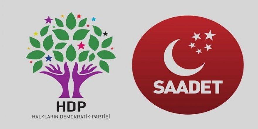 Saadet Partisi HDP ile ittifak içinde mi