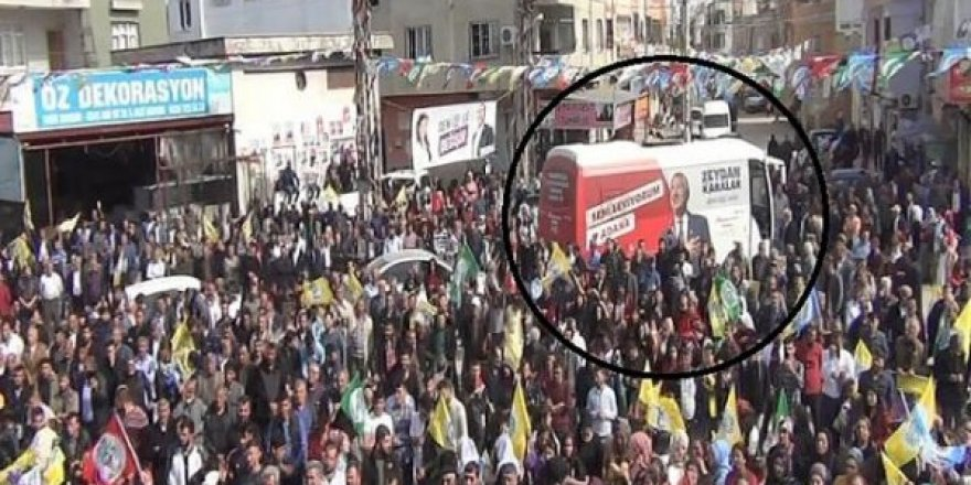 PKK'nın siyasi uzantısı HDP'nin Adana mitingine CHP desteği