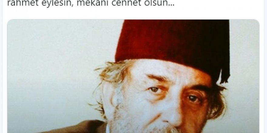 Serdar Tunçer'den Üstad Kadir Mısıroğlu için başsağlığı mesajı