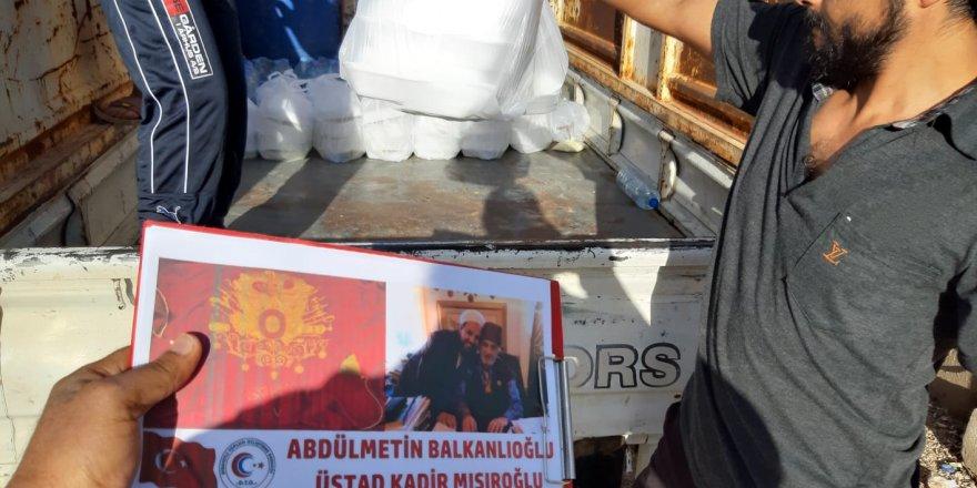 Üstad Kadir Mısıroğlu adına Suriye'de iftar verildi