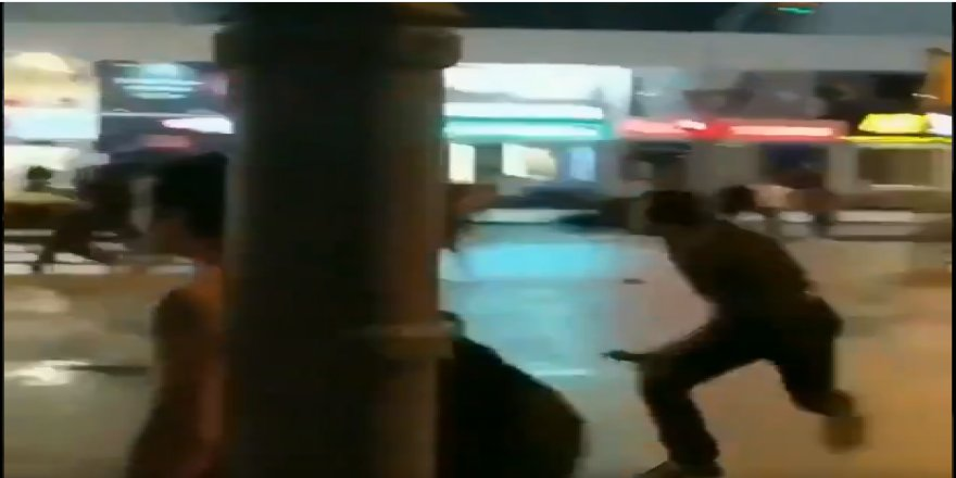 Bağdat Caddesi'nde kutlama yapan Galatasaraylı taraftara saldırı