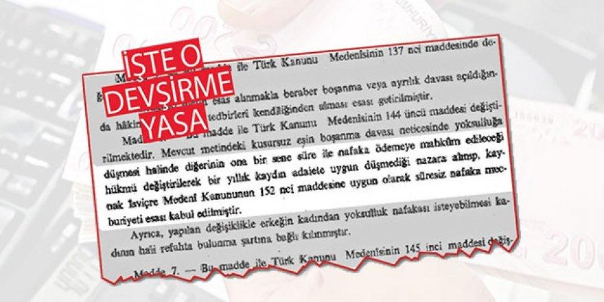Medeni kanunun adı Türk, kökeni Batı