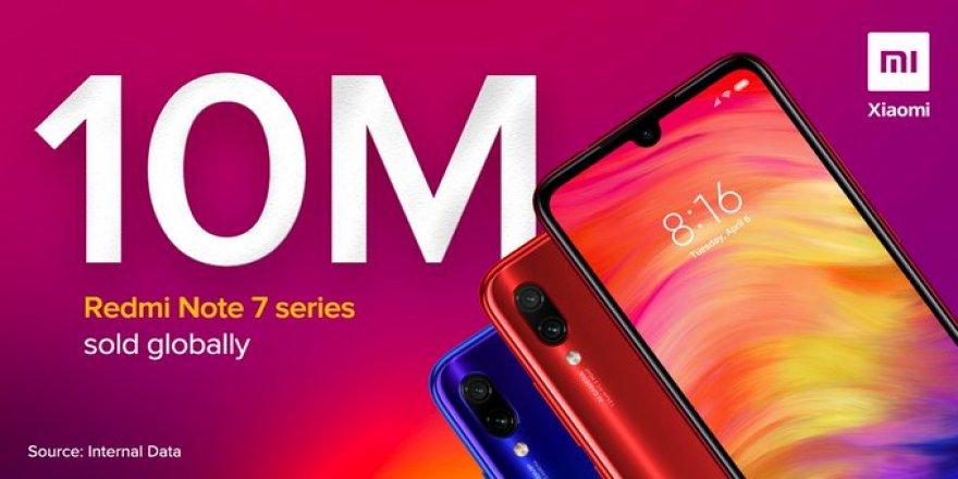 Xiaomi Redmi Note 7 Serisi satış rekoru kırdı