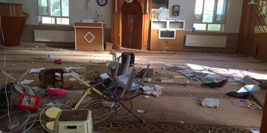 Konya'nın Çumra ilçesinde bir camiye saldırı