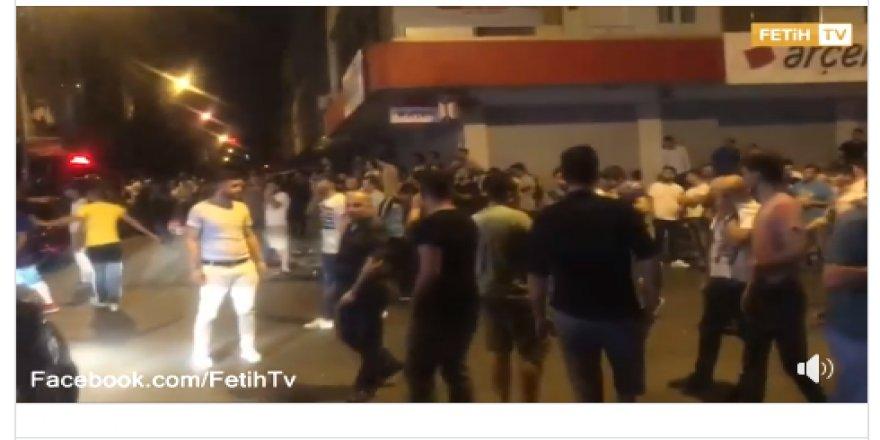 İkitelli'de tehlikeli gerginlik ! Taciz iddiası üzerine vatandaş sokağa döküldü