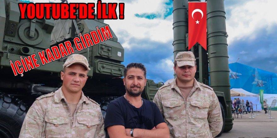 S-400'ün kutusunu açan ilk Türk