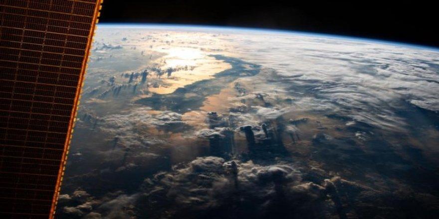 NASA paylaştı:400 km yukarıdan dünya