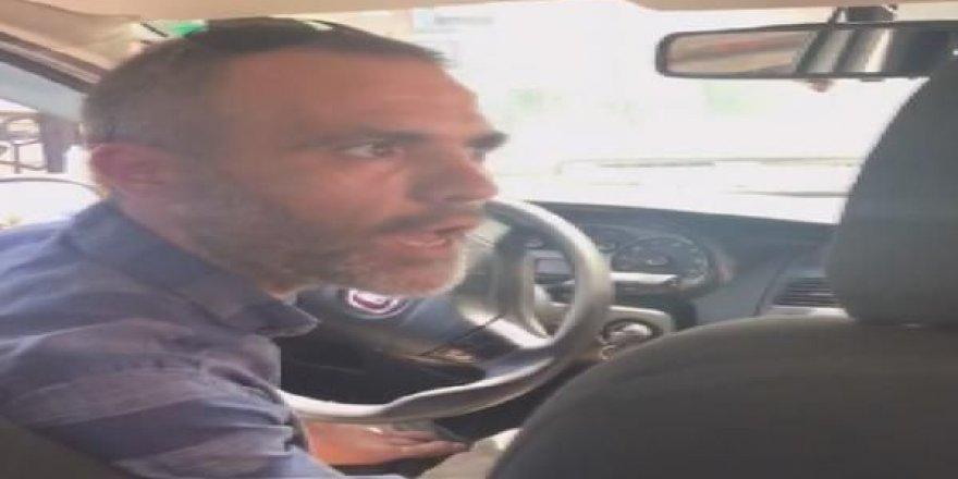 Beyoğlu'daki taksi sürücüsü Eyüp Doğan meslekten men edildi