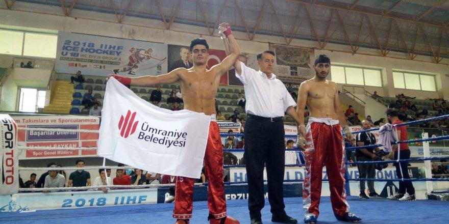 Sporcu Cengizhan Kuru Avrupa şampiyonasında Türkiye'yi temsil edecek.