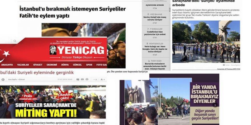 Medya'nın Suriyeliler üzerinden algı operasyonu !
