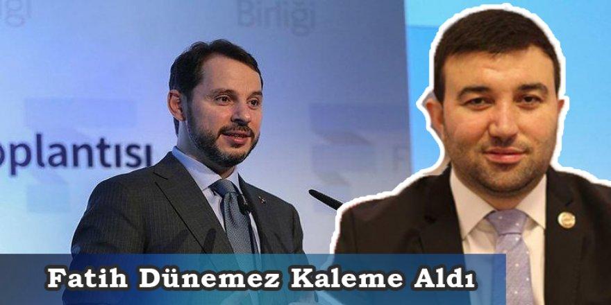 Fatih Dünemez Maliye Bakanı Berat Albayrak'ın bilinmeyen yönlerini kaleme aldı.