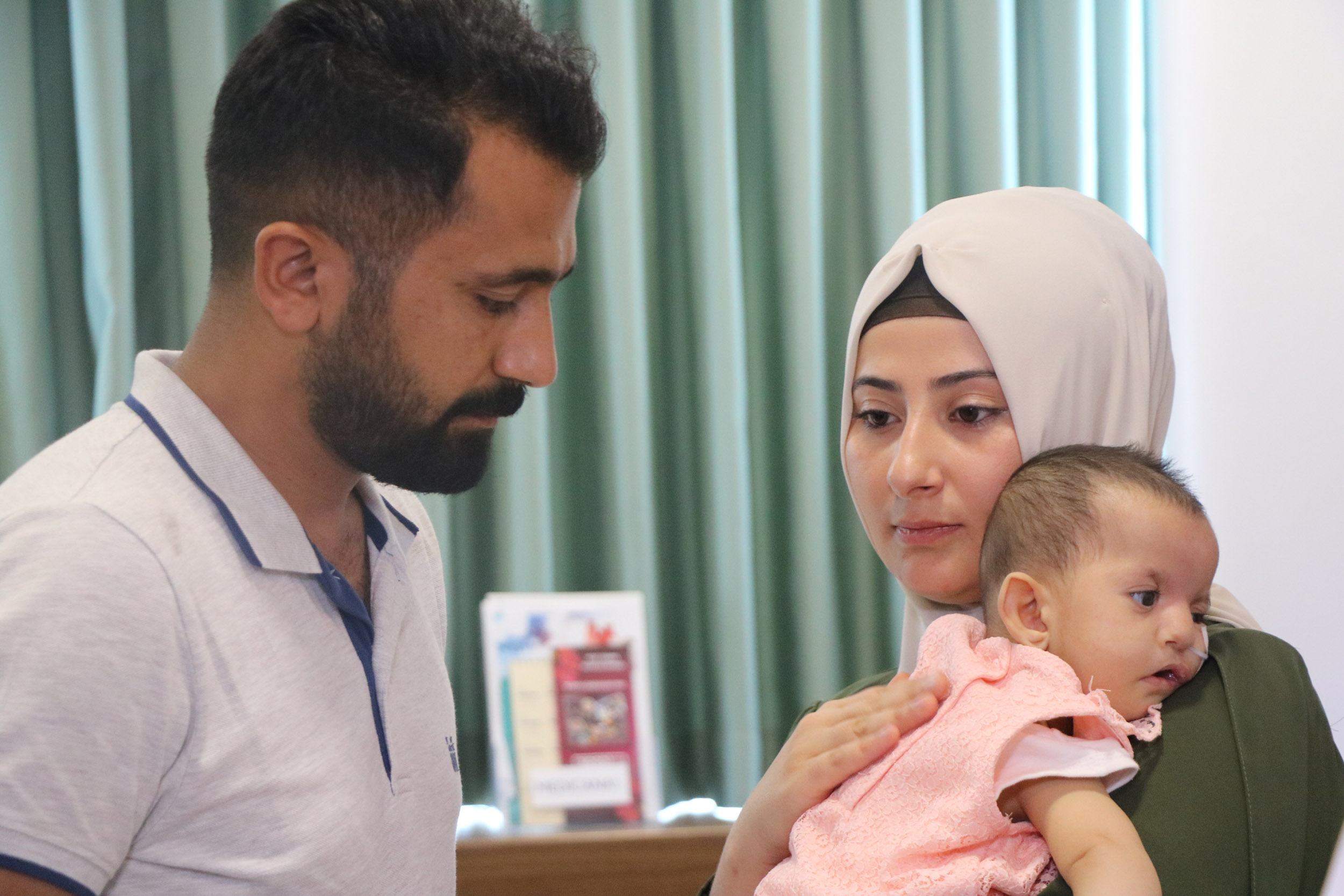 'Yaşamaz' denilen Elvin bebek hayata tutundu