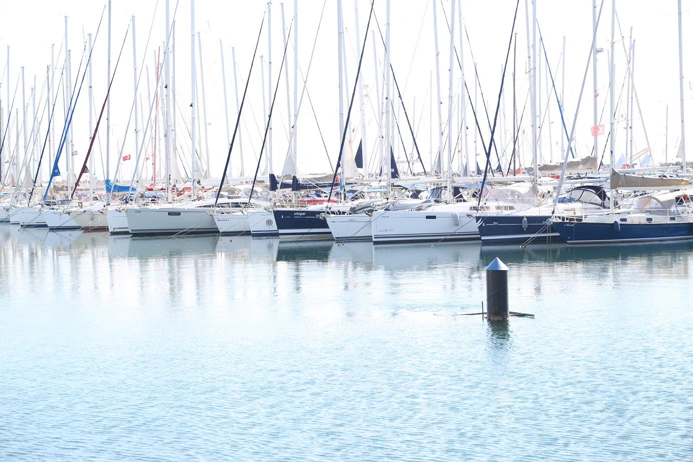 Milyonluk tekneler Uluslararası Boat Show Tuzla fuarı
