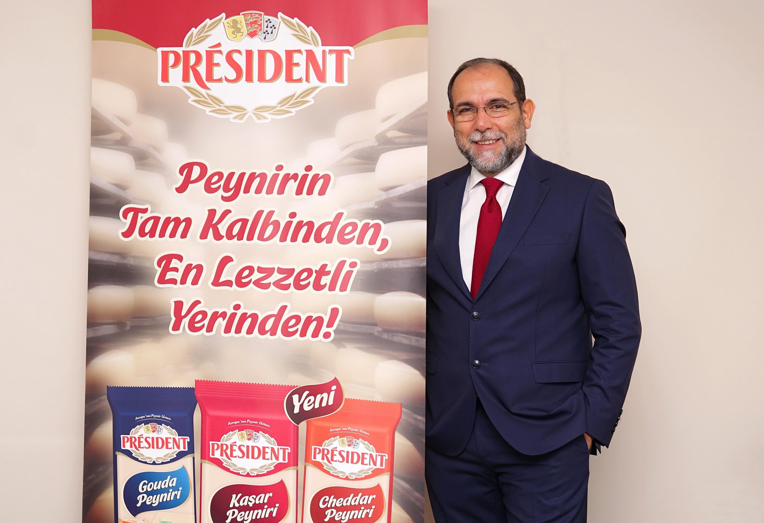 Avrupa'nın 85 yıllık peynir üreticisi President Türkiye pazarına adım attı