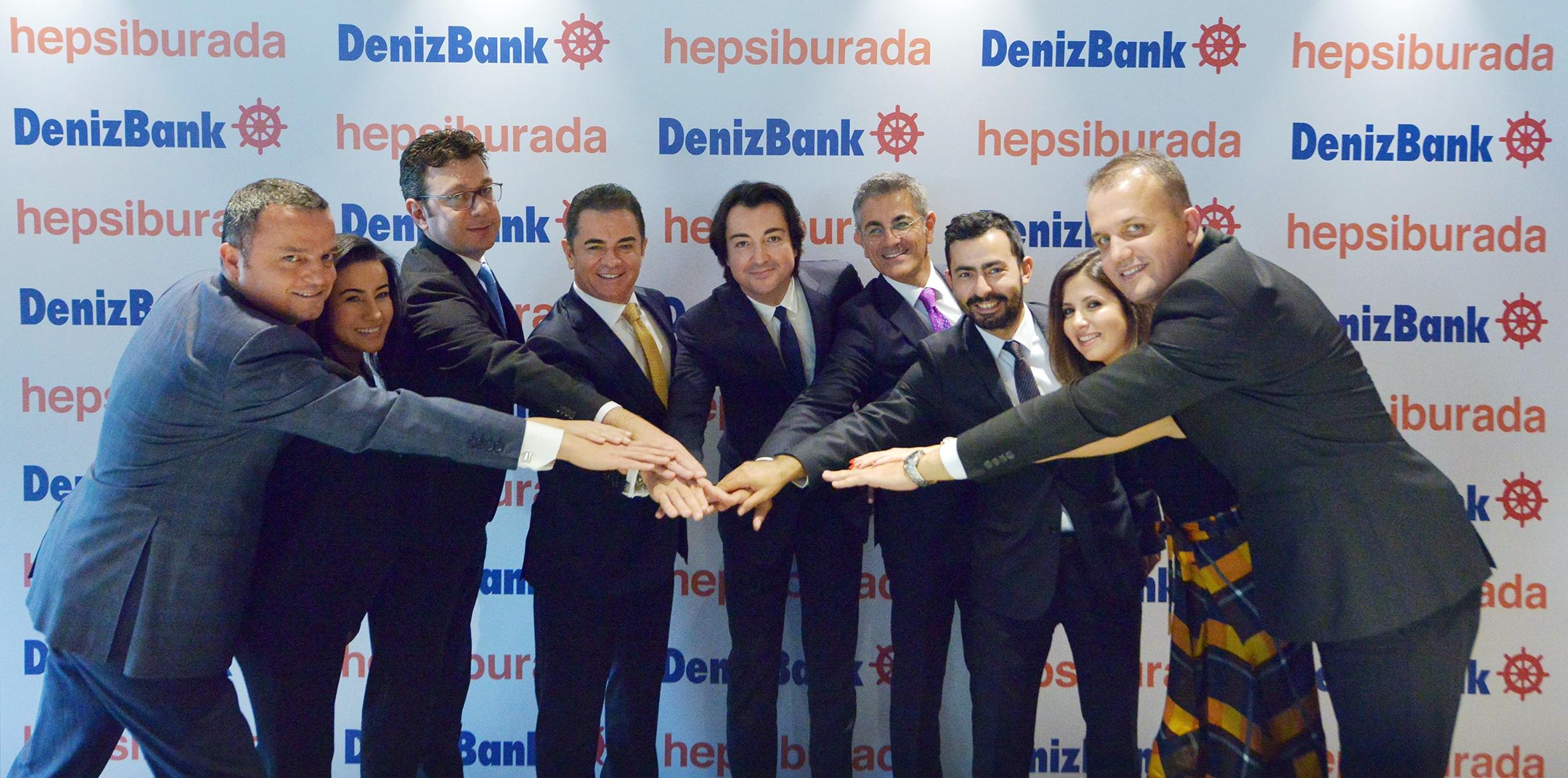 Hepsiburada ve Denizbank 'online kredi' için el sıkıştı.