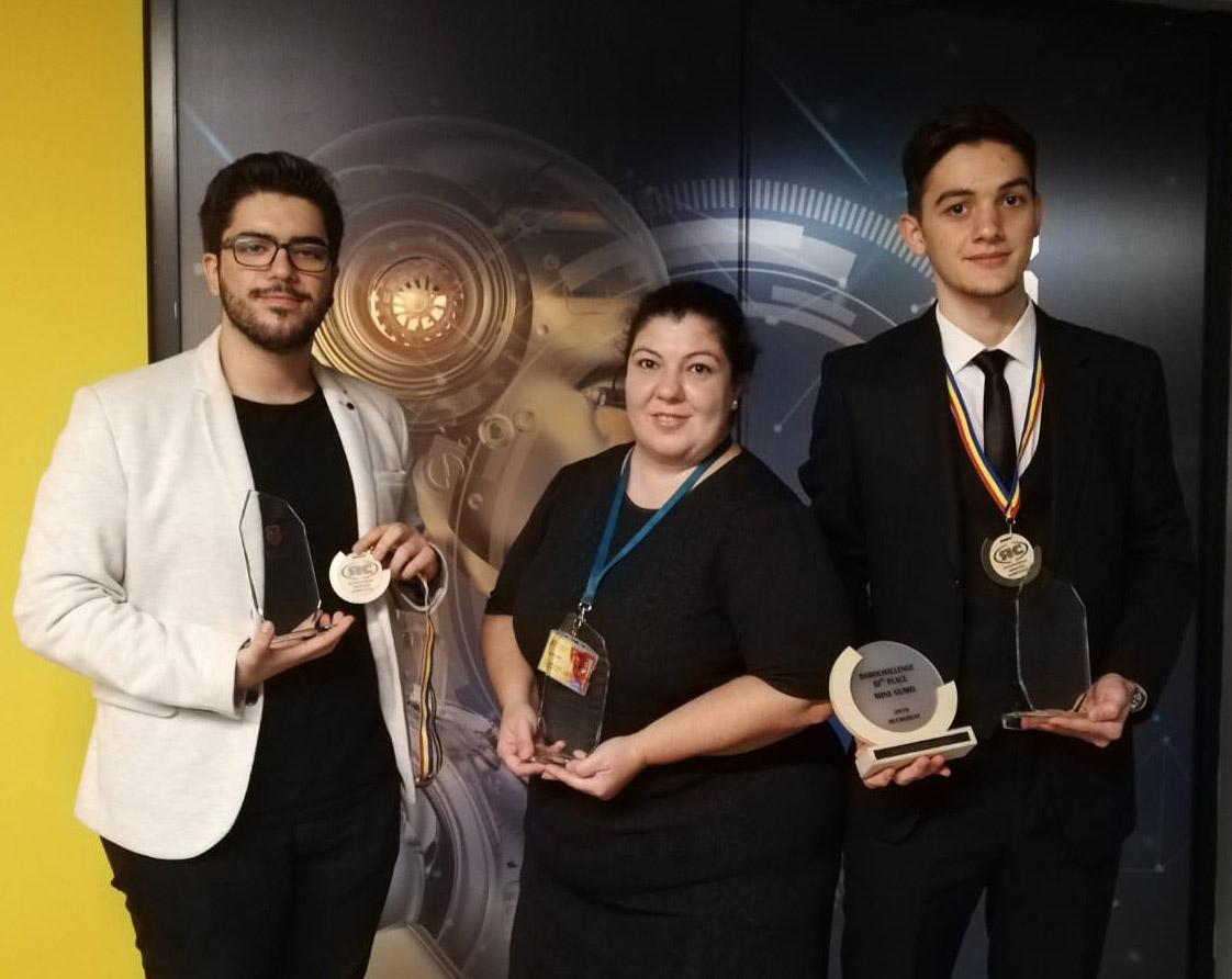 Romanya'nın başkenti Bükreş'te düzenlenen uluslararası robotik yarışmasında Türk öğrencilerden uluslararası başarı