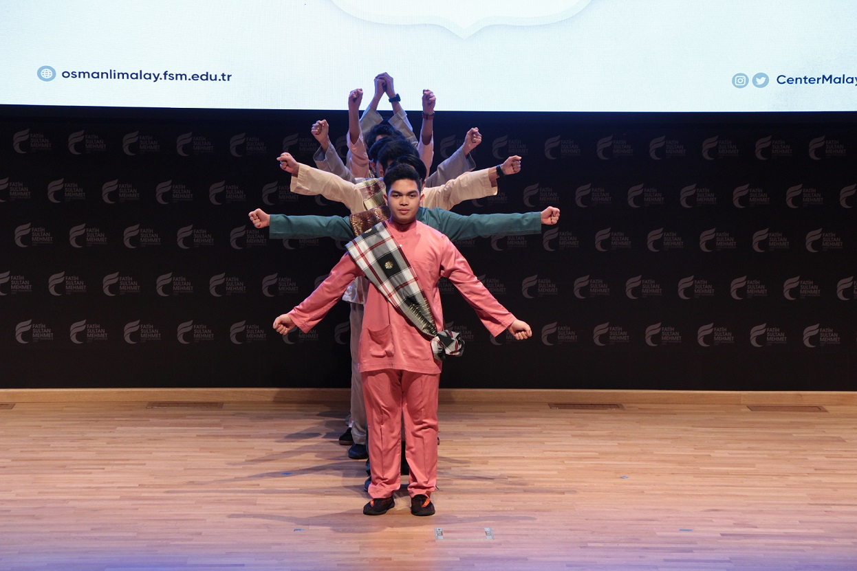 Nusantara Festivali'nde Malay öğrencilerden Güneydoğu Asya kültür şöleni