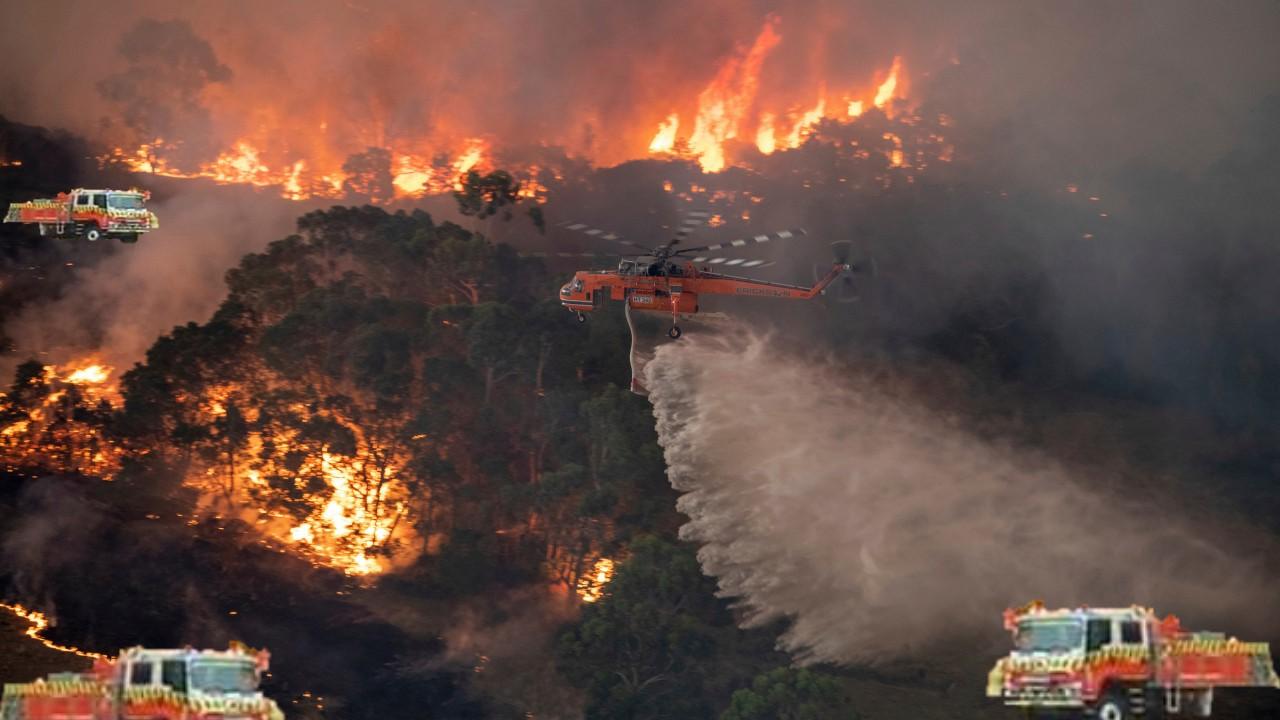 İklim değişikliğiyle birlikte 'mega yangın' riski artıyor