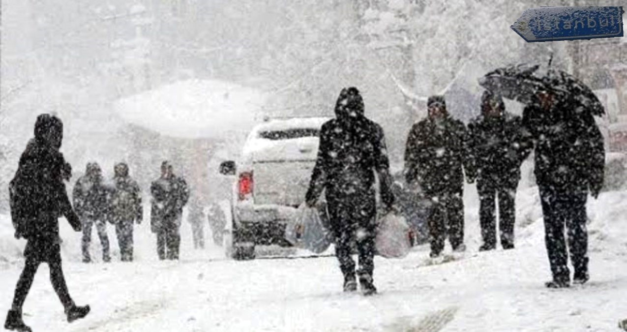 İstanbul için kar alarmı!  İBB Akom verilerine göre kar yağabilecek ilçeleri açıkladı
