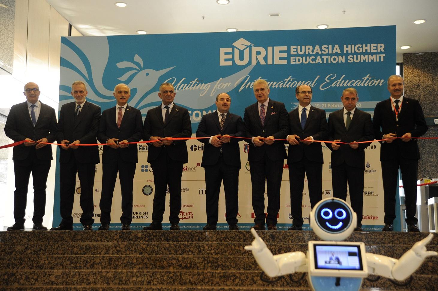 Avrasya Yükseköğretim Zirvesi-EURIE,İstanbul'da başladı.