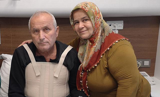 Zonguldak'ta yaşayan Mehmet Durgut; Aylarca enfeksiyon tedavisi gördü, nedeni herkesi şaşırttı