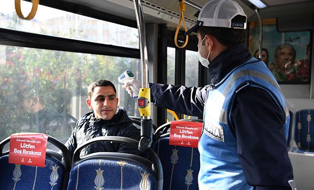 Yasak dinlemeyen ayakta yolcu taşıyan minibüs şoförlerine para cezası