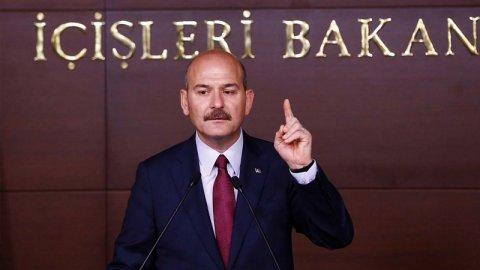 İçişleri Bakanı Süleyman Soylu'nun istifası kabul edilmedi!!!