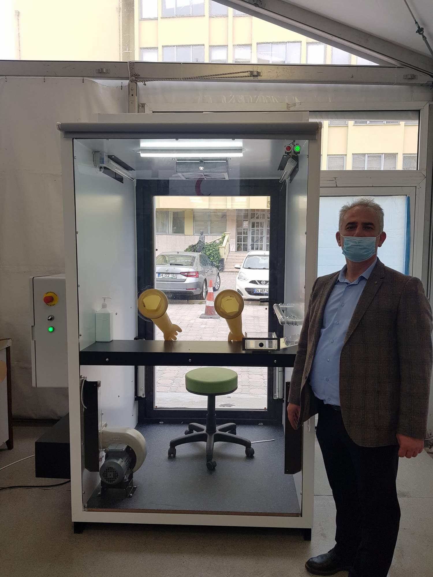 Türk bilim insanları tasarladı: Negatif Basınçlı ve Morötesi Işınlı Örnek Alma İstasyonu