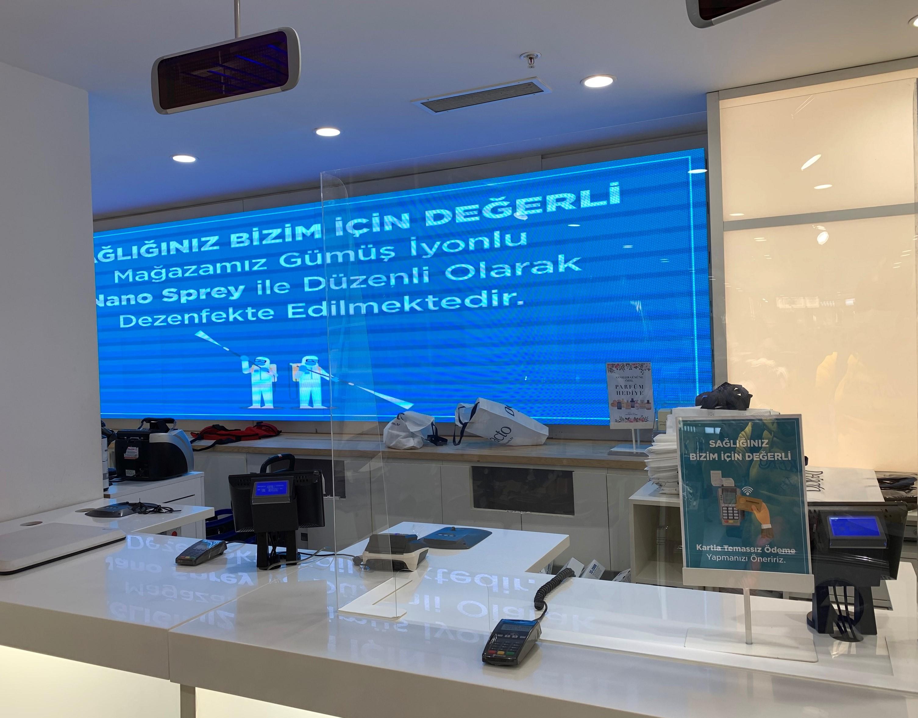 Koronavirüs ardından yeni alışveriş kriterleri: Ateş ölçümü, maske, gümüş iyon, UV ışınları