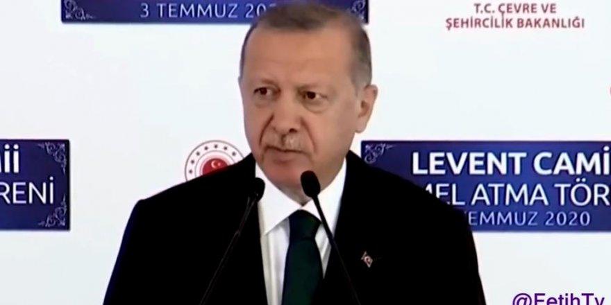 Erdoğan'dan Ayasofya çıkışı sert oldu